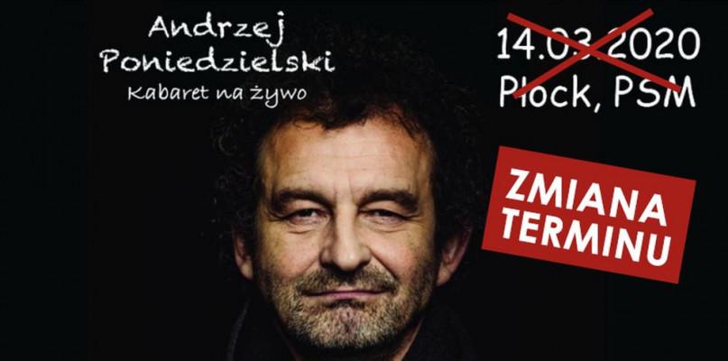 Zmiana terminu kabaretu Andrzeja Poniedzielskiego - Zdjęcie główne
