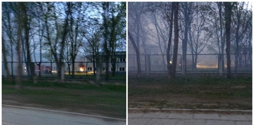 Pożar w budynku przy Chemików. Wezwano kilka wozów strażackich - Zdjęcie główne