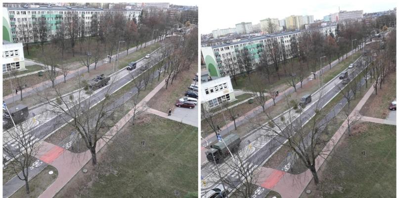Widzieliście przejazd wojskowych pojazdów w Płocku? To manewry Anakonda-18 [FOTO] - Zdjęcie główne