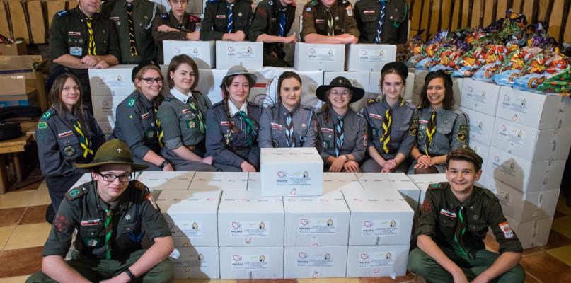 Harcerze z Płocka zawiozą paczki rodakom na Ukrainie - Zdjęcie główne