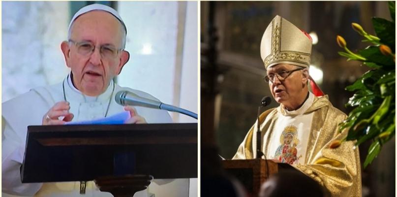 Papież zwrócił się w liście do płockiej młodzieży - Zdjęcie główne