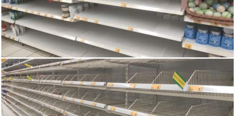 Płocczanie szturmują sklepy. Minister zapewnia: nie zamykamy sklepów - Zdjęcie główne