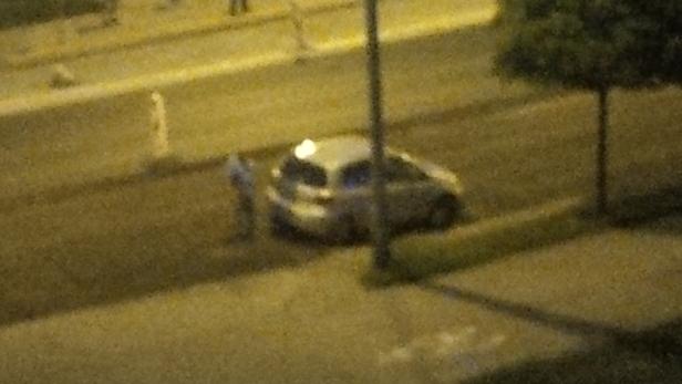 Auto wpadło w dziurę. Co z oznakowaniem?  - Zdjęcie główne