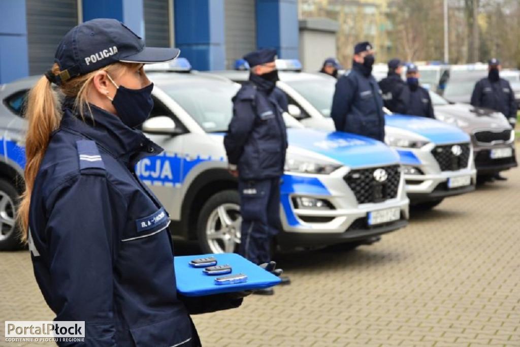 Nowe radiowozy dla policji - Zdjęcie główne