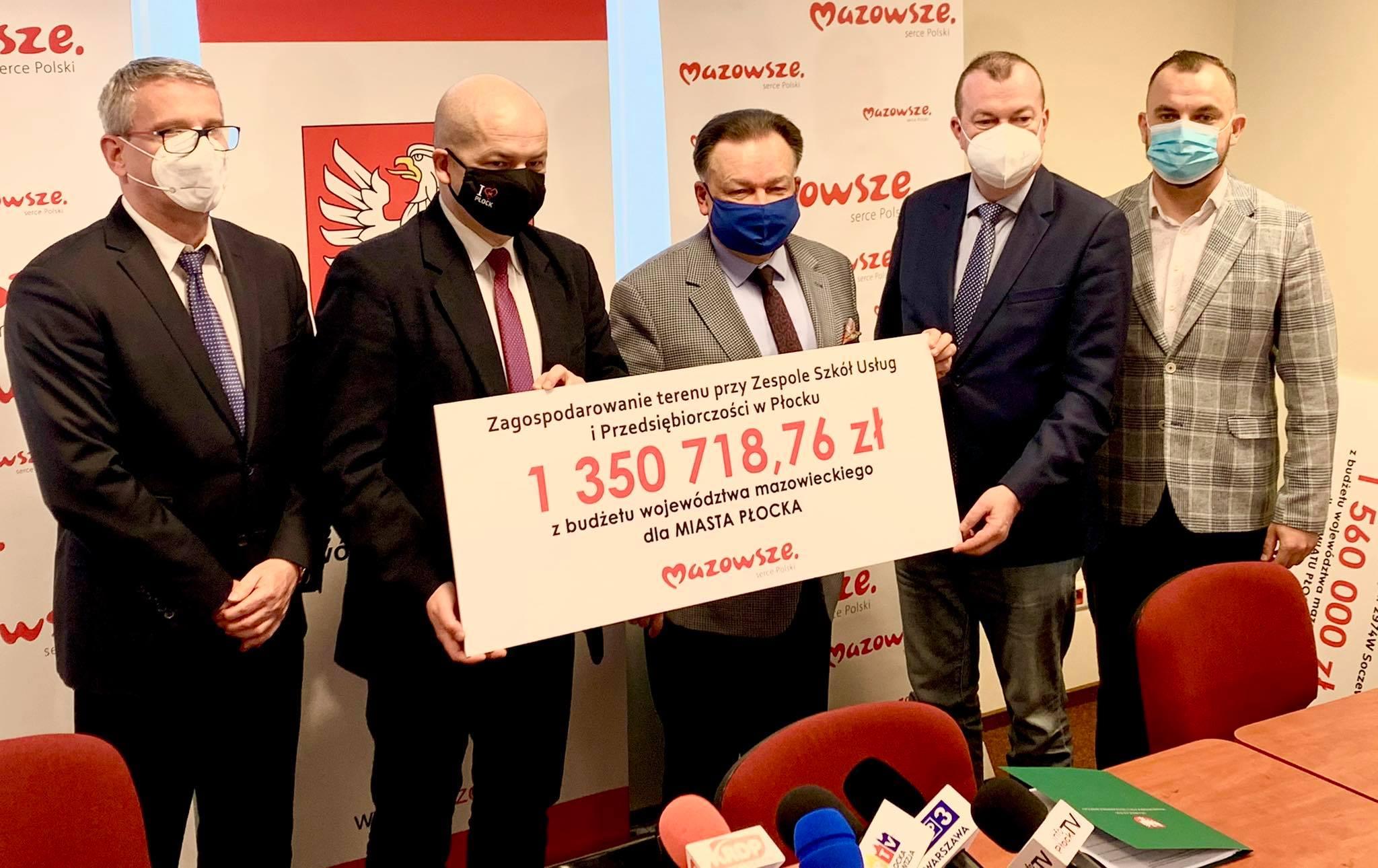 Nowe drogi, boisko i żłobek. Prawie 5 mln zł na inwestycje w Płocku i regionie - Zdjęcie główne
