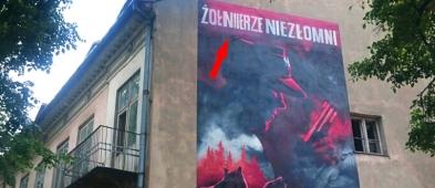 Zauważyliście błąd na nowym muralu na kamienicy Sienkiewicza? - Zdjęcie główne