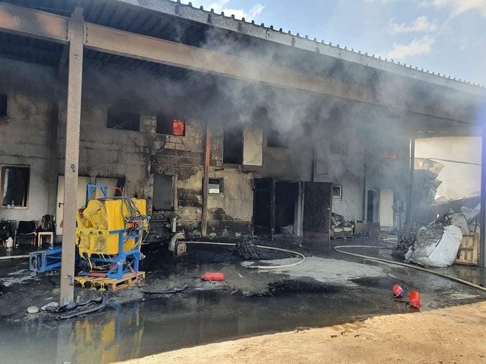 Stracili wszystko w potężnym pożarze. Zbiórka dla pracowników sezonowych z Ukrainy - Zdjęcie główne