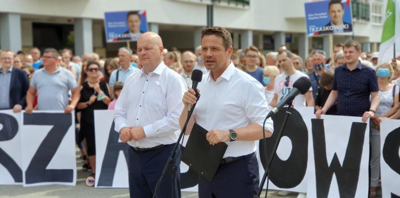 Rafał Trzaskowski w Płocku. - Nie ma zgody na nowe podatki [FOTO] - Zdjęcie główne
