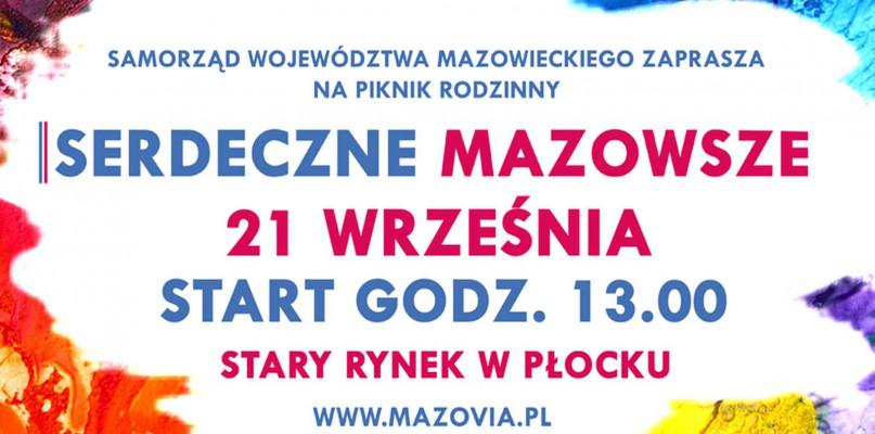 """Piknik rodzinny """"Serdeczne Mazowsze"""" w Płocku - Zdjęcie główne"""