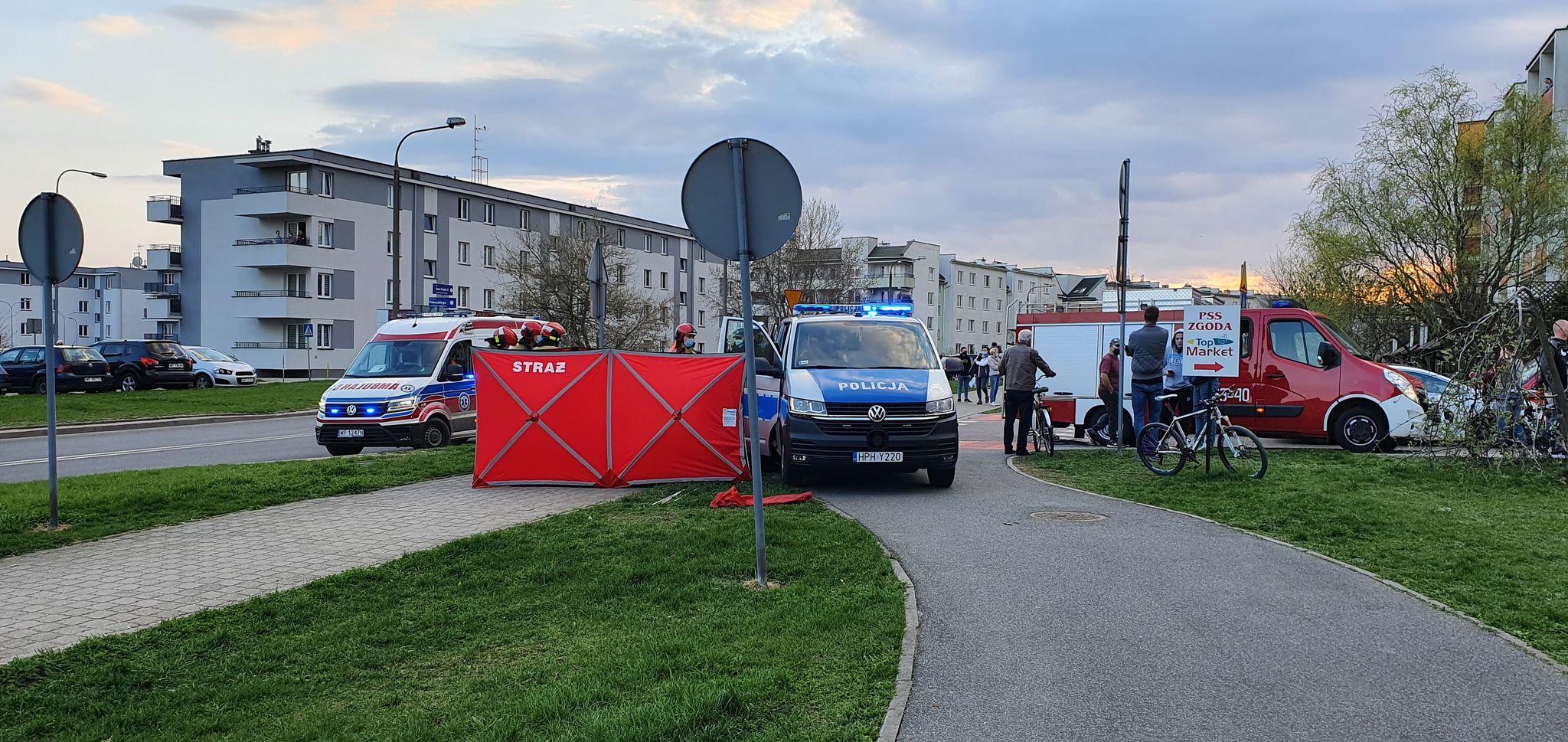 Tragiczne zdarzenie w Płocku. Zmarł mężczyzna - Zdjęcie główne