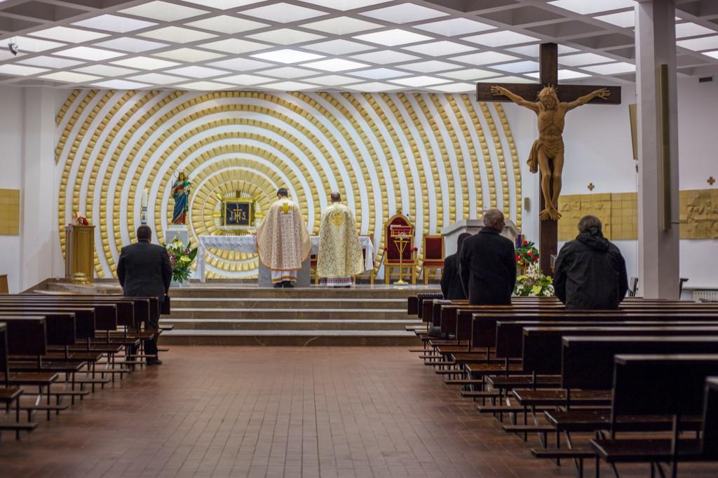 Pierwsza msza dla Ukraińców - Zdjęcie główne