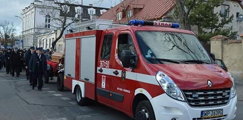 Strażacy i rodzina pożegnali zmarłego druha [FOTO] - Zdjęcie główne