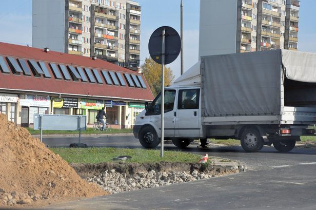 Wypadek:motocykl zepchnięty z drogi[FOTO] - Zdjęcie główne
