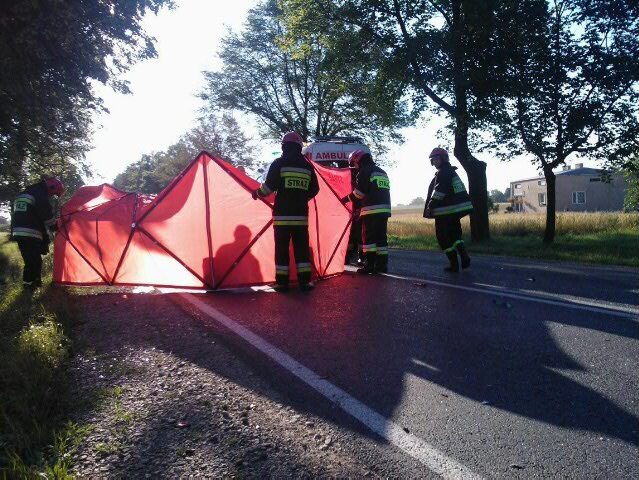 Policja szuka świadków wypadku w Goślicach - Zdjęcie główne