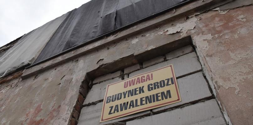 Budynek przy ul. Kościuszki grozi zawaleniem. Zostanie rozebrany - Zdjęcie główne