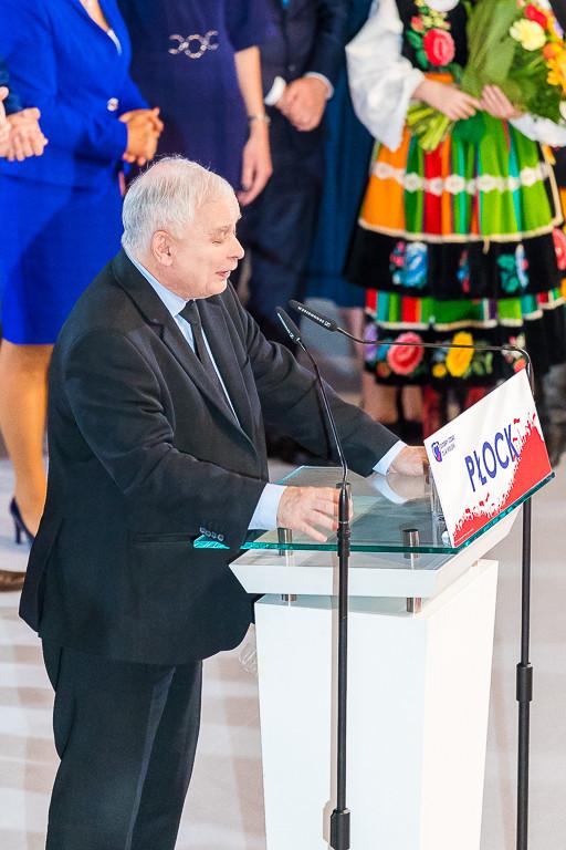 Konwencja PiS w płockim teatrze - Zdjęcie główne
