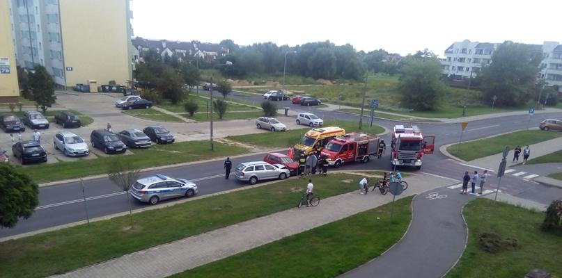 Dwa samochody zderzyły się na Podolszycach Południe - Zdjęcie główne