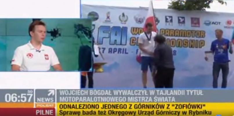 Wojciech Bógdał w Polsat News [WIDEO] - Zdjęcie główne