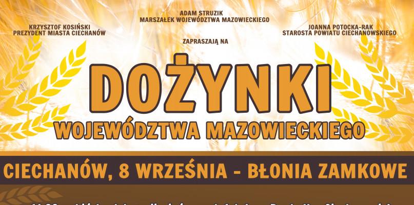Zapraszamy na Dożynki Województwa Mazowieckiego! - Zdjęcie główne