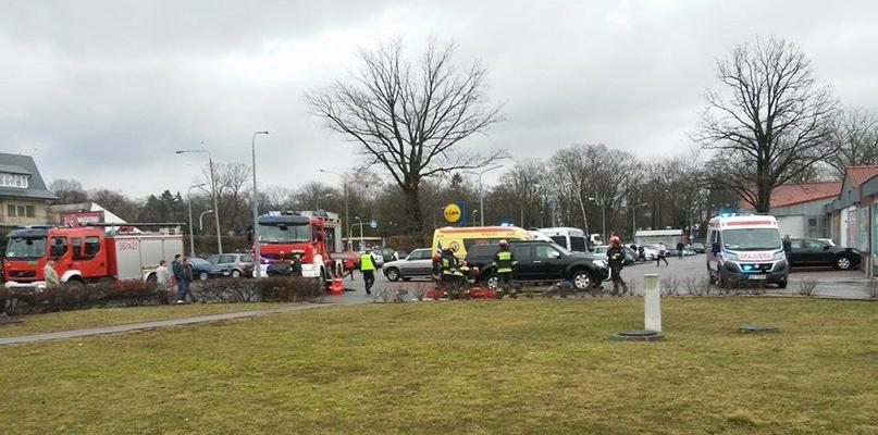 Zmarła kobieta potrącona na parkingu - Zdjęcie główne