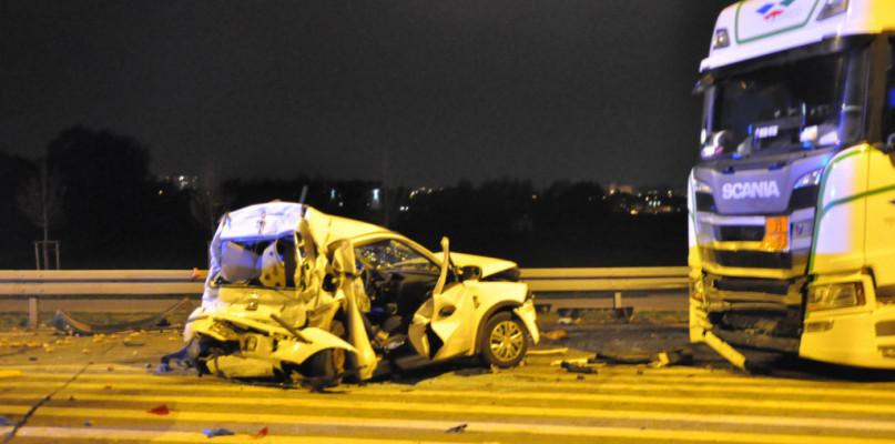 Policja o przyczynie wczorajszego wypadku na ul. Tadeusza Mazowieckiego - Zdjęcie główne