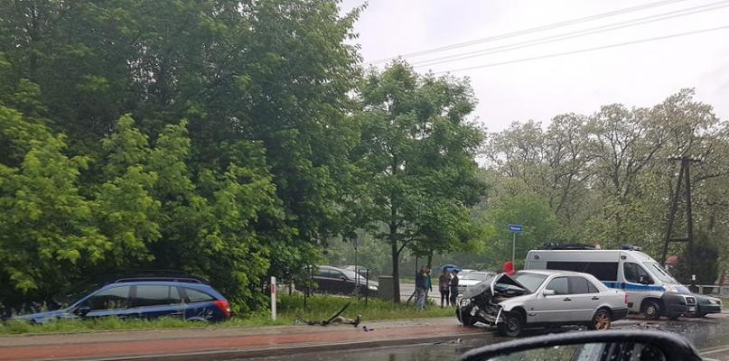 Niebezpiecznie niedaleko Płocka. 20-latek szarżował na drodze - Zdjęcie główne