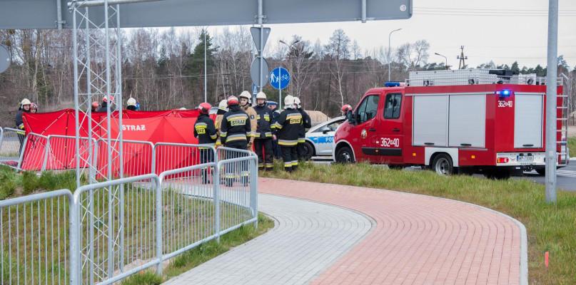 Tragiczny wypadek w podpłockiej miejscowości. 33-latek zginął na miejscu [FOTO] - Zdjęcie główne