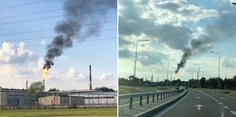 Czarny dym nad Orlenem. Co się dzieje?  - Zdjęcie główne