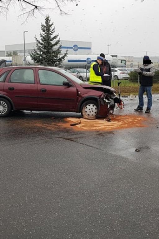 Wypadek na Zglenickiego - Zdjęcie główne