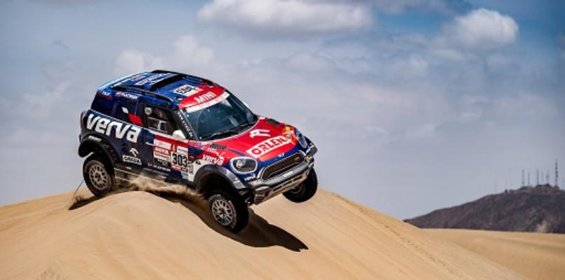 """Dakar 2019: Kuba Przygoński z ORLEN Team czwarty na etapie  i w """"generalce"""", Adam Tomiczek w TOP15 motocyklistów - Zdjęcie główne"""