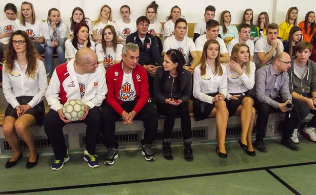 Minister sportu w płockiej szkole [FOTO] - Zdjęcie główne