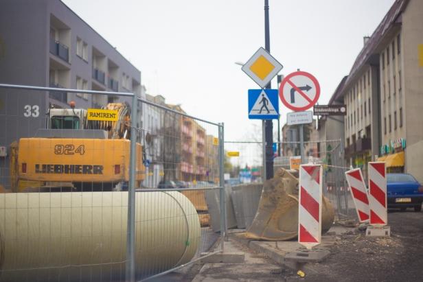 Odcinek ulicy zamknięty do czerwca - Zdjęcie główne
