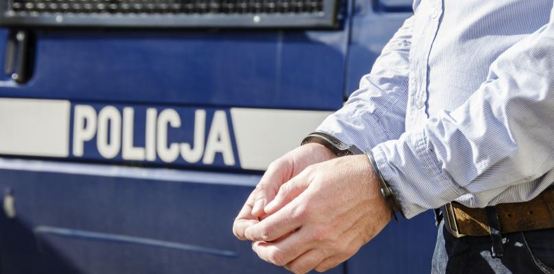 Podczas meczu policja zatrzymała sprawcę rozboju - Zdjęcie główne