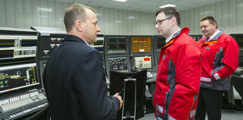 Nowy prezes Orlenu z wizytą w Płocku [ZDJĘCIA] - Zdjęcie główne