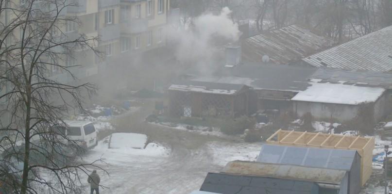 Ogromny dym. Strażnicy sprawdzili, czy truje mieszkańców - Zdjęcie główne