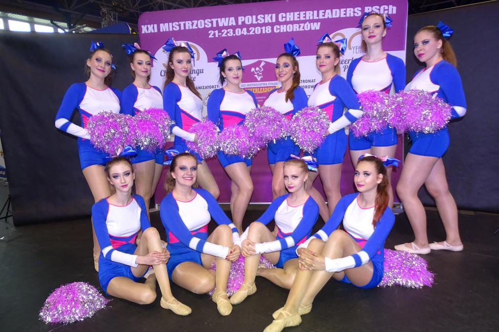 Impresja mistrzem Polski cheerleaders - Zdjęcie główne