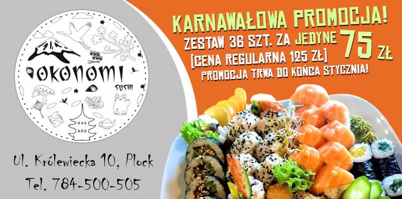 Lubicie sushi? Znamy dobre miejsce w Płocku  - Zdjęcie główne