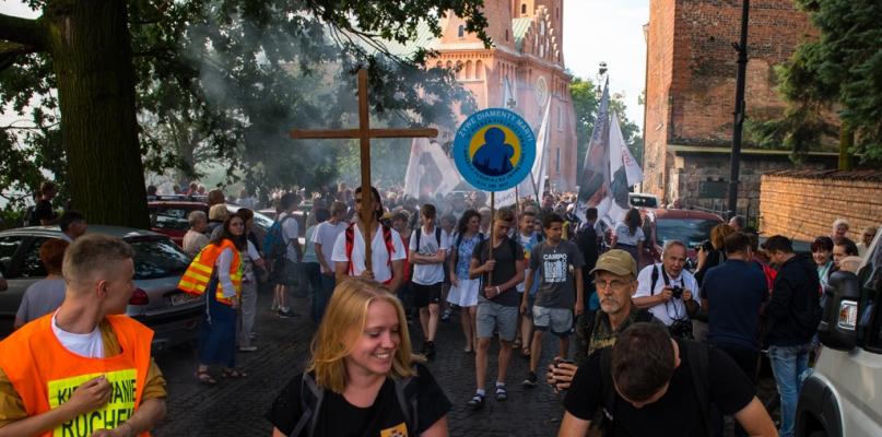 Pielgrzymi wyruszyli z Płocka na Jasną Górę [FOTO, WIDEO] - Zdjęcie główne