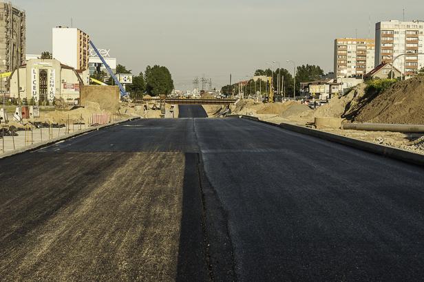 Budowa wiaduktu: jest już asfalt [FOTO] - Zdjęcie główne