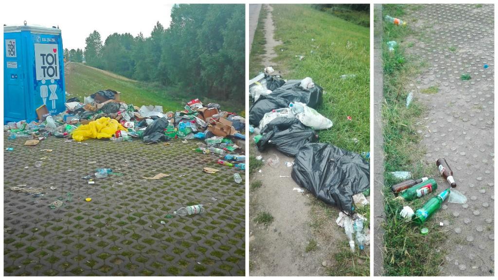 Trzy dni po festiwalu wciąż śmieci - Zdjęcie główne