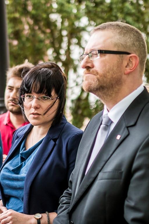 Kaja Godek i Grzegorz Braun w Płocku - Zdjęcie główne