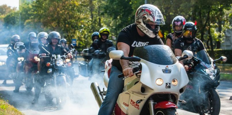 W weekend przez miasto przejedzie kolumna motocykli - Zdjęcie główne