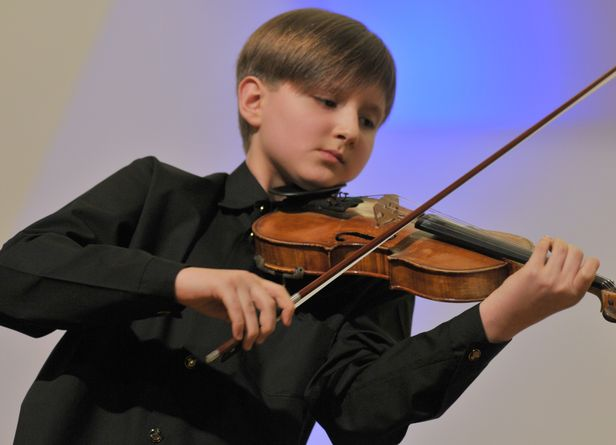 Młody skrzypek z Płocka podbił Włochy - Zdjęcie główne