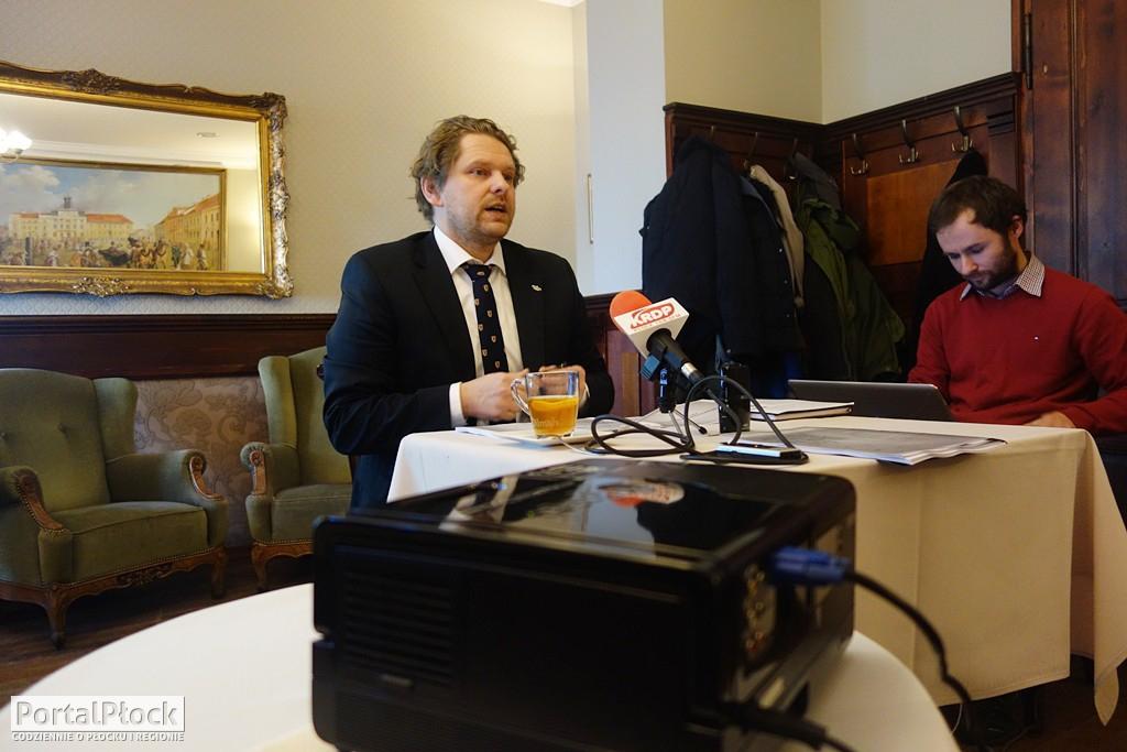 Konferencja posła Marka Opioły - Zdjęcie główne