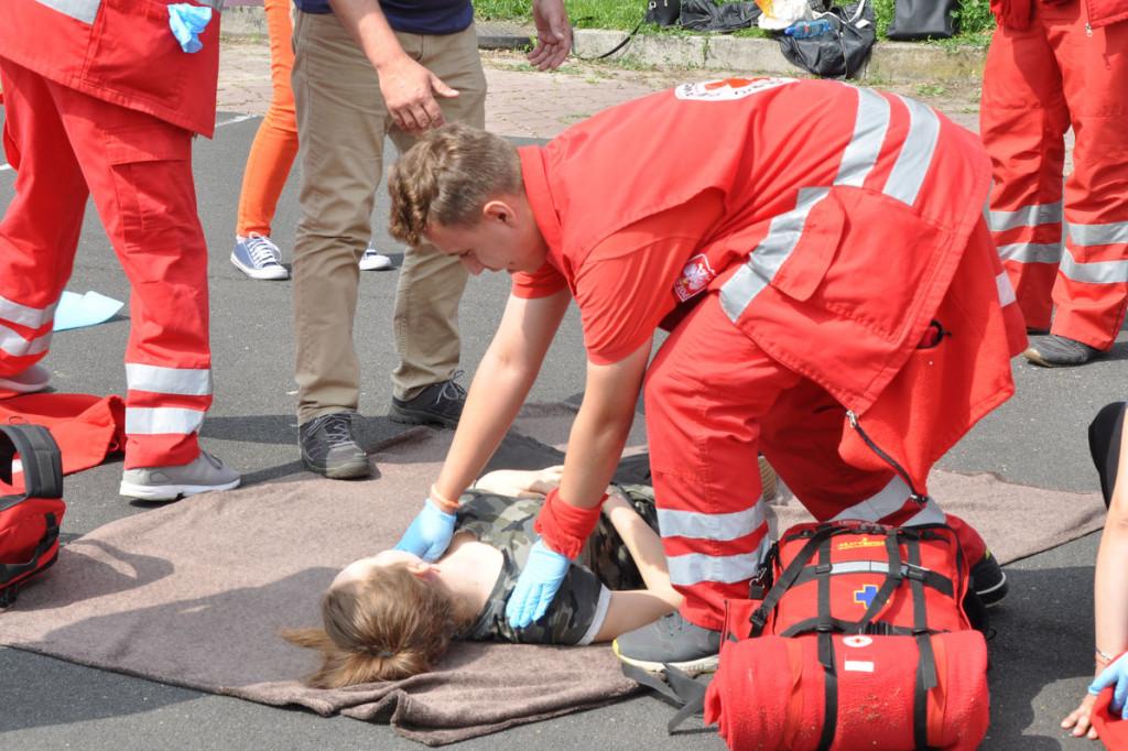 Zawody w udzielaniu pierwszej pomocy - Zdjęcie główne