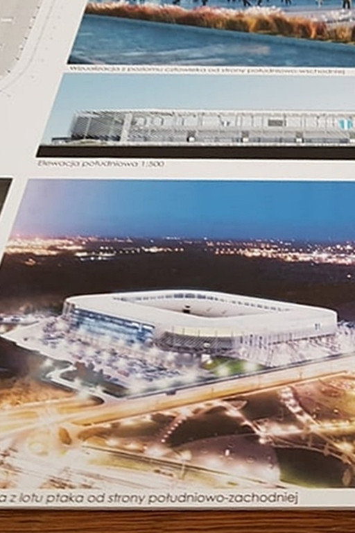 Tak może wyglądać przyszły stadion - Zdjęcie główne