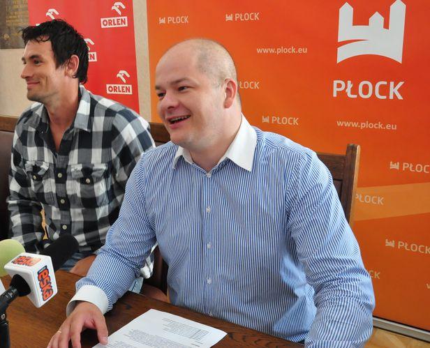 Marcin Lijewski na rok w płockiej Wiśle - Zdjęcie główne