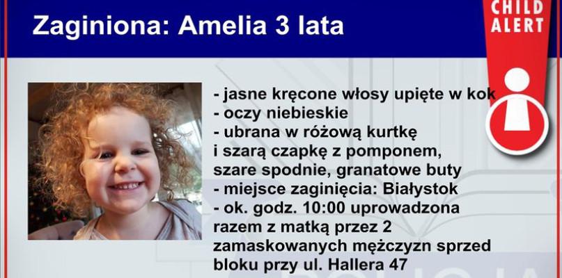 W Białymstoku porwano 3-letnią dziewczynkę i jej matkę. Wszczęto procedurę Child Alert - Zdjęcie główne