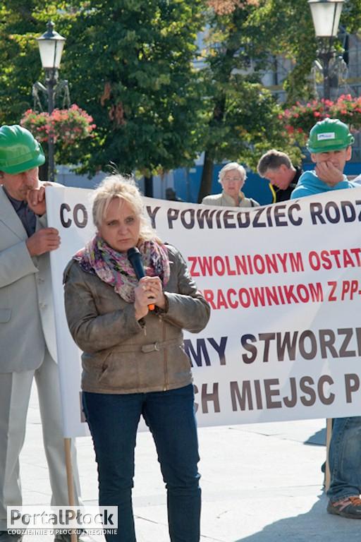 Protest przeciwko urzędnikom - Zdjęcie główne