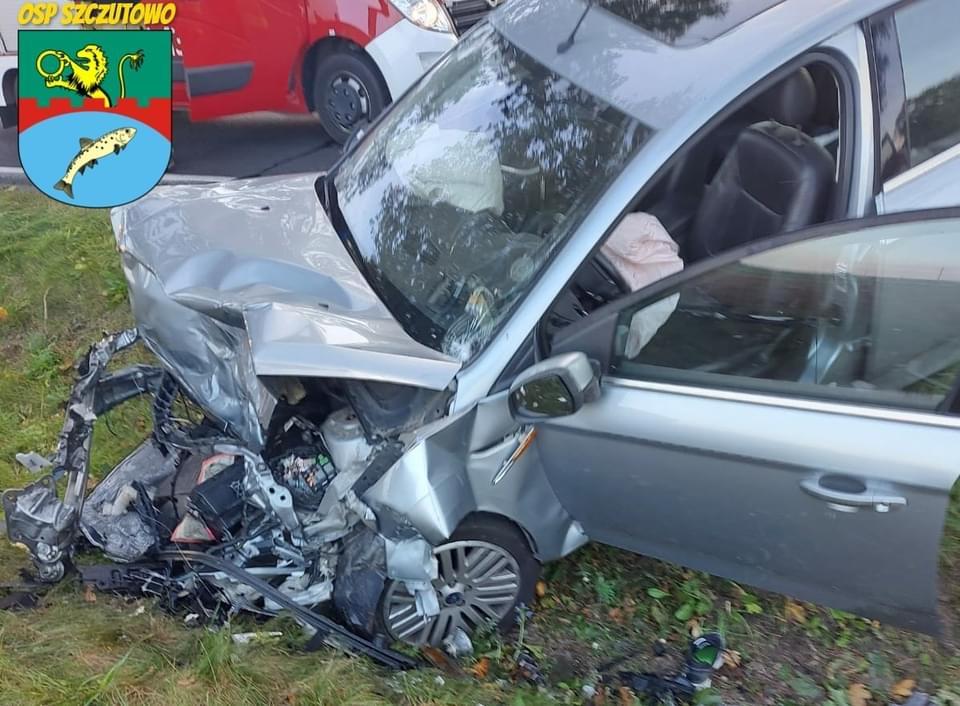 Poważny wypadek niedaleko Płocka. Pięć osób rannych [ZDJĘCIA] - Zdjęcie główne